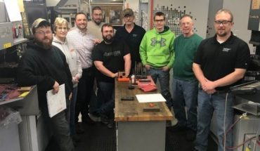 The team at JIT Tool and Die Inc., in Brockway, Pa., were recipients of an EDA loan. <br>