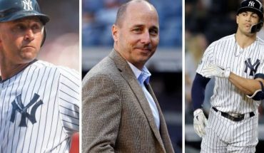 """A new book, """"Inside the Empire: The True Power Behind the New York Yankees"""" shows a number of prominent officials in the Yankees including star slugger Giancarlo Stanton have less than nice things to say about former Yankees superstar Derek Jeter."""