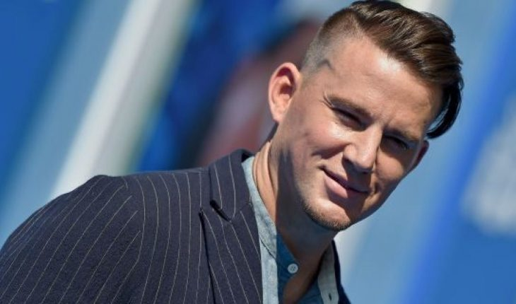 Channing Tatum revealed he buzzed his hair and dyed in platinum blond.