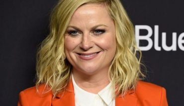 "Amy Poehler arrives at the ""Parks and Recreation"" 10th-anniversary reunion during the 36th annual PaleyFest on Thursday, March 21, 2019, at the Dolby Theatre in Los Angeles."