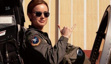 "Brie Larson as Air Force pilot Carol Danvers in ""Captain Marvel"""