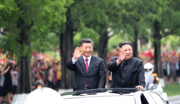 Kim, Xi promise to build relationship 'whatever the international situation'