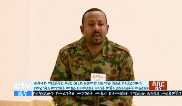 Ethiopian government stops coup attempt, military chief killed