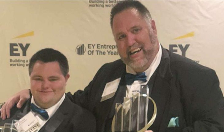 John's Crazy Socks co-founder becomes 1st person with Down syndrome to win major entrepreneurs' award