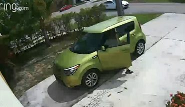 Man caught performing disgusting act on Florida homeowner's driveway
