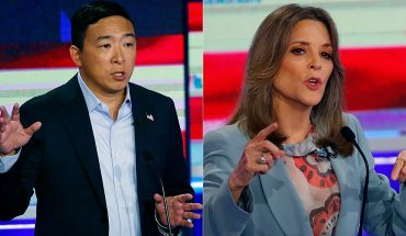 Marianne Williamson echoes Andrew Yang, says her mic was 'not on' during NBC debate