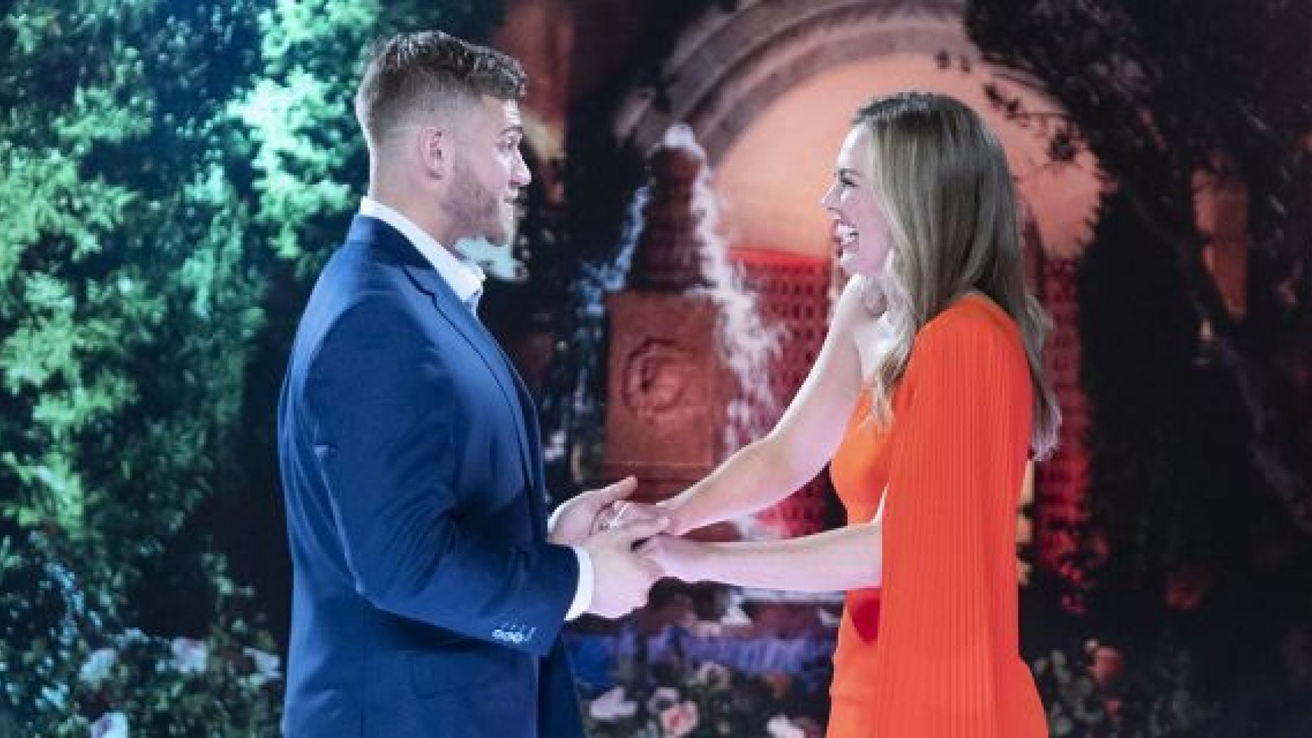 """The Bachelorette"" star Hannah Brown and contestant Luke Parker have stirred up controversy talking about their Christian faith and views on premarital sex."