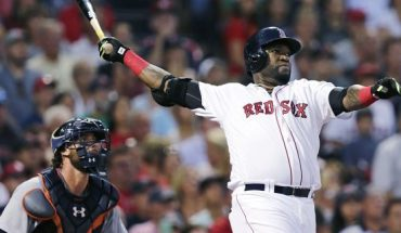 David Ortiz was shot and wounded at a Dominican Republic bar over the weekend. Police arrested six people in connection with the shooting, including one gunman. (AP Photo/Charles Krupa, File)