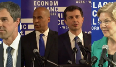 Four Democratic presidential candidates pitched policies plans to the federal government