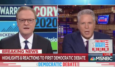 MSNBC's Donny Deutsch, Lawrence O'Donnell have tense talk after debate