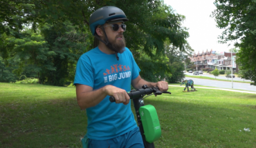 Coriel-Allen expresses how he feels e-scooters should be made available to all Baltimoreans.