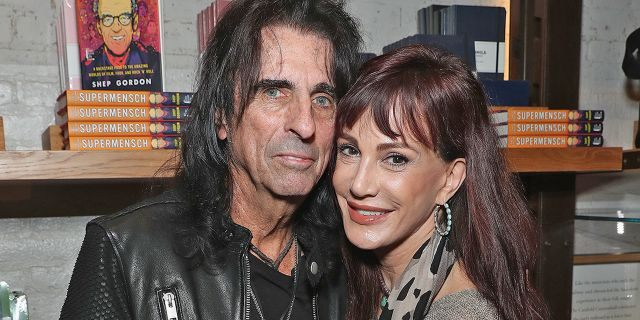 "Alice Cooper and wife Sheryl Goddard celebrate the release of Gordons Memoir, ""They Call Me Supermensch"" on Sept <a class="
