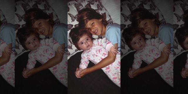 Jemma says her son Rio is also amazed by his baby sister - and even copies her hair styles.