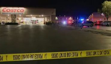 Witnesses said at least 100 people were inside a Costco store in Corona, Calif., at the time of a shooting on Friday night. (FOX 11 Los Angeles)