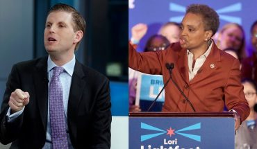 Spit attack on Eric Trump 'repugnant,' Chicago's Dem mayor says in call for civility