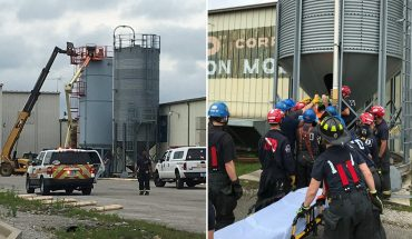 Indianapolis woman rescued a week after falling to bottom of 30-foot silo