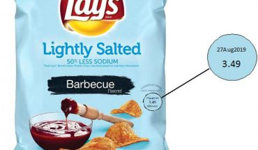 Lay's chips recalled over undeclared milk allergen