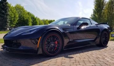 Last front-engine Chevrolet Corvette will be auctioned to support first responders, injured service members
