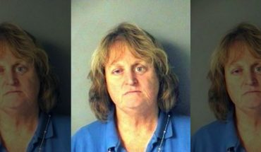 Nancy Bucciarelli, 66, was arrested for allegedly pushing her dog into a lake and letting it drown.