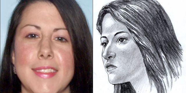 From the left: A released photo of Jessica Ashley Manchini, who police identified as the woman whose remains were found stuffed in a suitcase along a Georgia highway three years ago <a class=