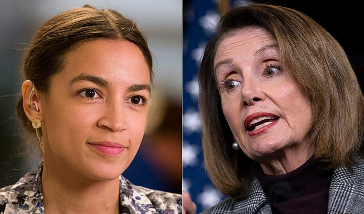 AOC ups ante in feud with Pelosi, suggests speaker is 'singling out of newly elected women of color'