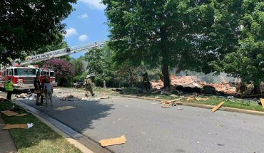 Woman dead, man rescued from rubble after North Carolina house explosion, fire officials say