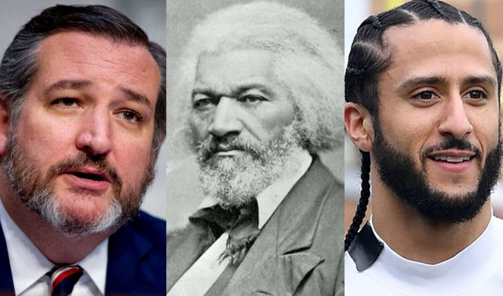 Cruz adds 'context' after Kaepernick quotes from Frederick