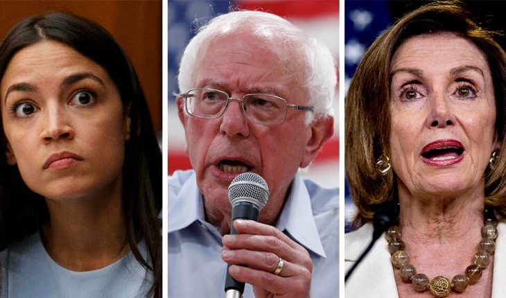 Bernie Sanders seemingly dips toe into Democrats' feud, tells young people to embrace progressive 'power'