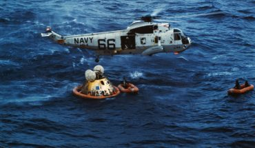 Apollo 11 splashdown heroes remember recovery efforts: 'Proud to have been part of it'
