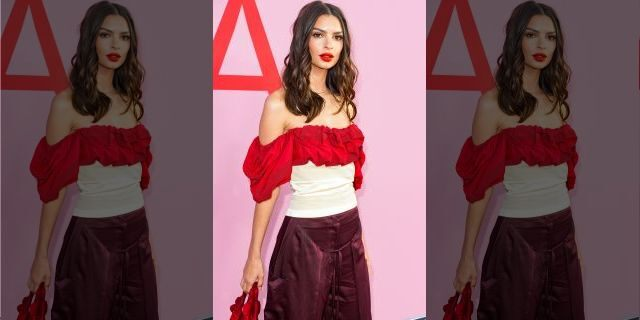 Emily Ratajkowski attends an event in June 2019 in New York City <a class=