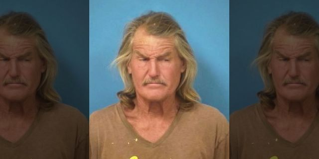 This undated booking photo provided by the Nye County, Nev., Sheriff's Office shows Troy Ray. (Nye County Sheriff's Office via AP)