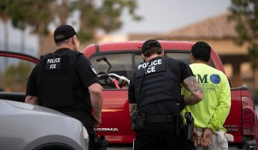 Activists block ICE headquarters in standoff to protest immigration policy, migrant detention
