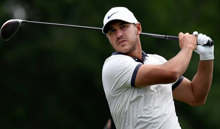 Golfer Brooks Koepka models thong while on vacation with girlfriend Jena Sims