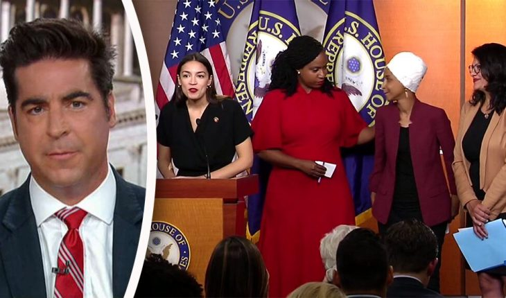 Jesse Watters: Trump 'won' the 'squad' press conference, says Dems just want to 'impeach him for tweeting'