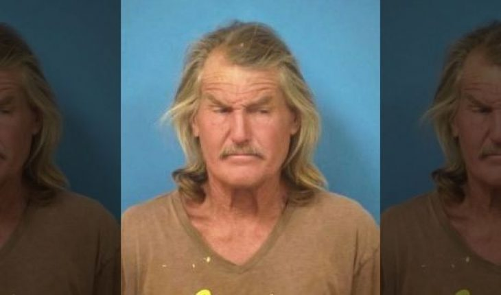 This undated booking photo provided by the Nye County, Nev., Sheriff