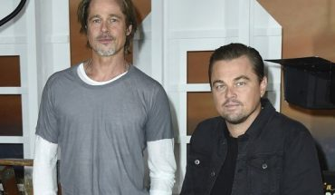 "Pitt and DiCaprio co-star in the upcoming Quentin Tarantino film ""Once Upon a Time in Hollywood"" set for release July 26."