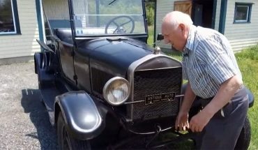 Canadian man has been driving Ford Model T pickup for 70 years