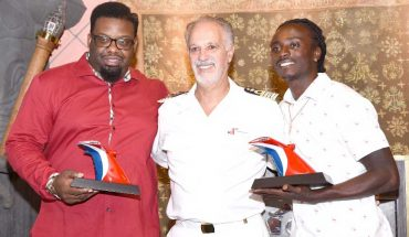 Carnival Cruise Line honors men who saved wheelchair-bound passenger who rolled off dock in St. Thomas