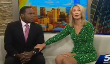 TV host apologizes after saying black co-anchor looked like a gorilla