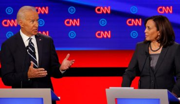 Celebrities reacted to CNN's second night of Democratic debates with jabs at Joe Biden, Kamala Harris