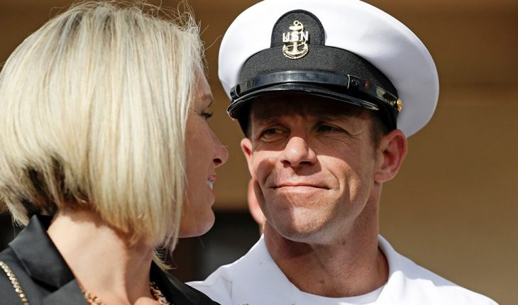 Navy drops charges against SEAL Edward Gallagher's platoon leader, orders JAG review
