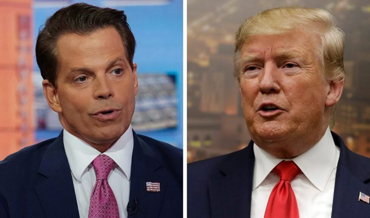 Scaramucci breaks with Trump, says GOP may need 'change at the top of the ticket'