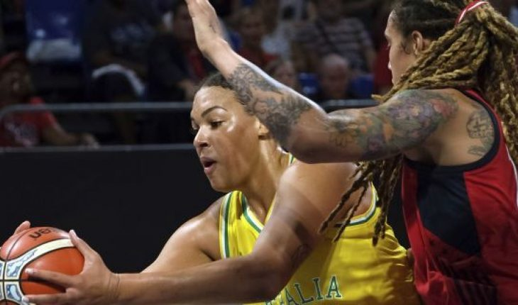 Las Vegas Aces All-Star Liz Cambage was all smiles heading into Sunday