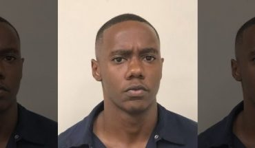 Kenneth Thomas Bowen III was arrested Tuesday and charged with rape, police said. (Clayton County Police Department via AP)