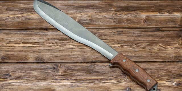 File image of a machete <a class=