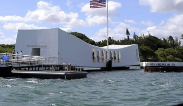 This Sept. 21, 2017 file photo shows the USS Arizona Memorial in Pearl Harbor, Hawaii.