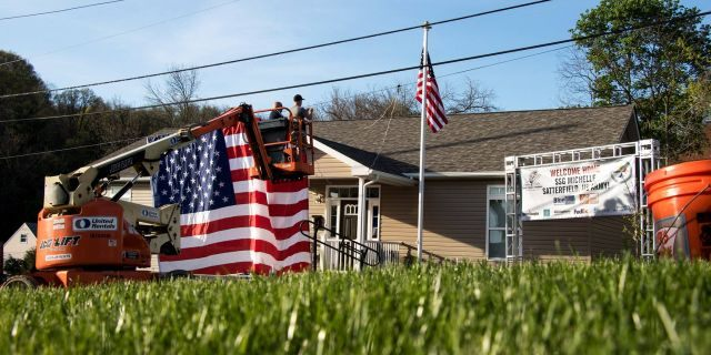 The Stephen Siller Tunnel to Towers Foundation's Gold Star Family Home Program gives 100-percent mortgage-frees home to Gold Star families <a class=