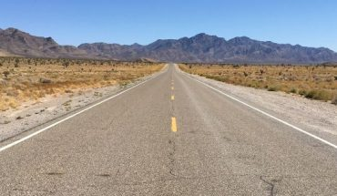 """Nevada State Route 375, also known as the """"Extraterrestrial Highway,"""" is an isolated highway about 100 miles north of Las Vegas."""