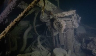 The USS Eagle PE-56 was sunk by a German submarine on April 23, 1945. (Smithsonian Channel)