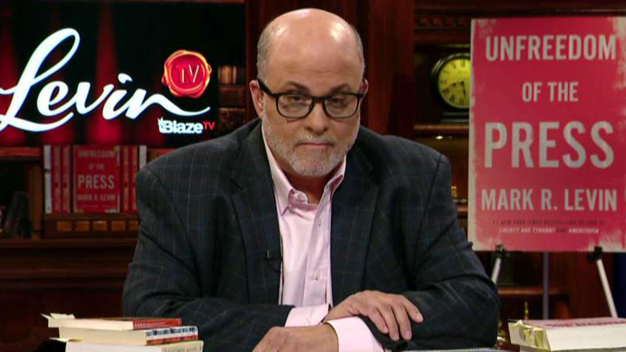 Mark Levin: Media ignoring how 'Trumponomics' has led to 'truly incredible' job numbers
